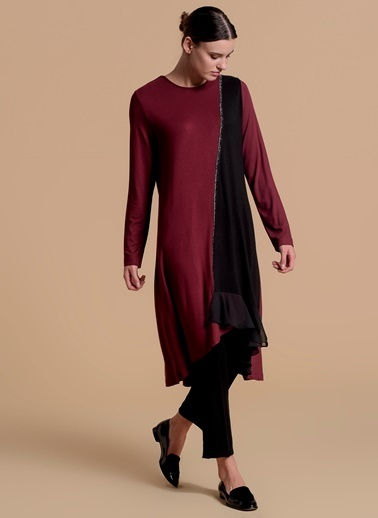 Moodbasic Tunik Bordo